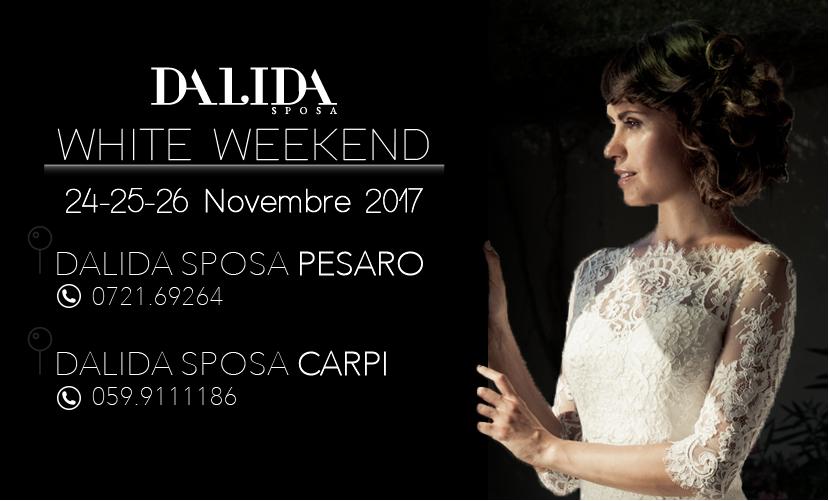 DALIDA SPOSA – WHITE WEEKEND