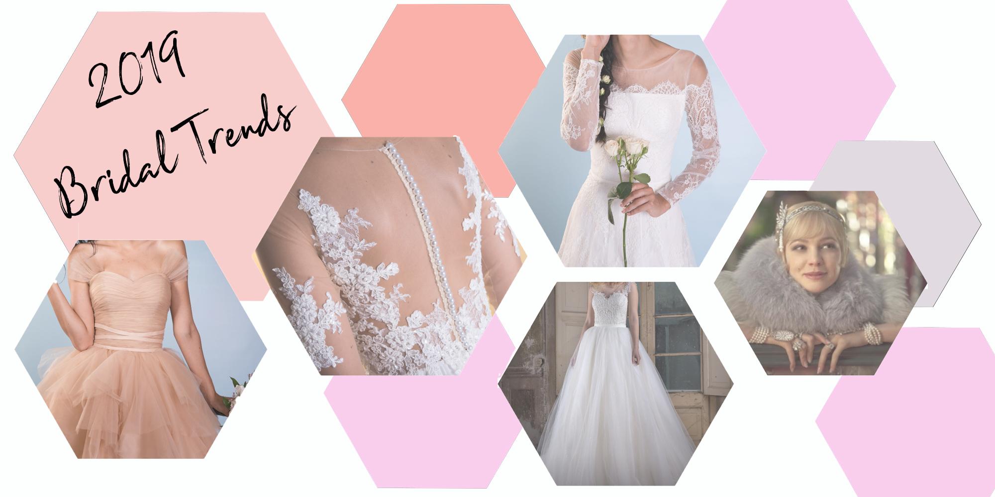 Abiti da sposa: tutti i Bridal trends del 2019