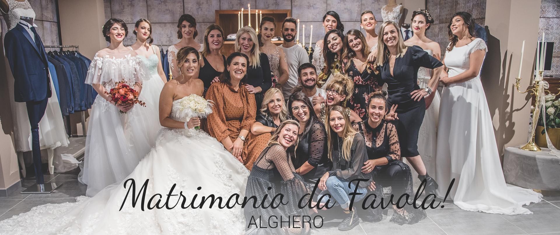 Matrimonio da Favola – Alghero 27/10/2019